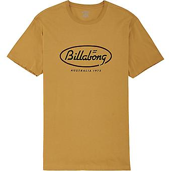 Billabong Men's Premium T-Shirt ~ State Beach goud