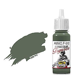 Ammo by Mig Figure Paints F-512 Field Grey FS-34159