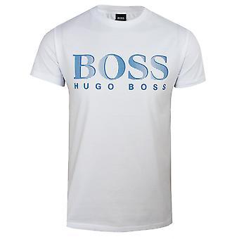 Hugo boss men's white uv-protection t-shirt