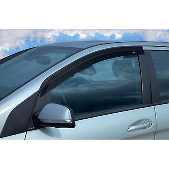 Front Stick-On Wind Deflectors For Ford Tourneo Courier Kombi 2014-2019