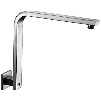 "Alfi Brand Ab12Gsw-Bn Brushed Nickel 12"" Square Raised Wall Mounted Shower Arm"