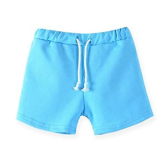 Cotton Kids Shorts, Summer And ,candy Color Beach Pants And Trousers