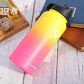 Wide Mouth Flask, Hydro Thermos, Double Walled, Vacuum Insulated, Stainless