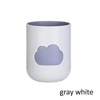 1pcs Cloud Pattern Environmental Friendly Plastic Big Mouth Couples Cups