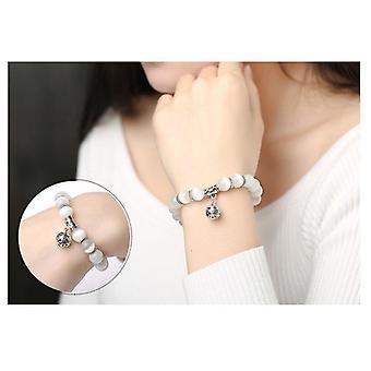 Prodotto per la perdita di peso, assistenza sanitaria, braccialetto perline per gli occhi con ciondolo fortunato, magnete