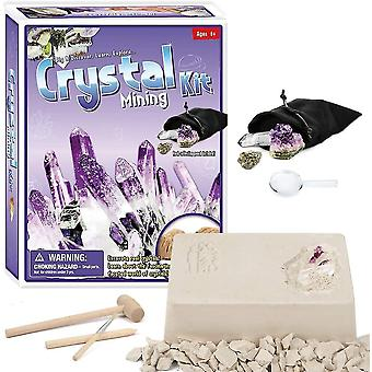 Драгоценные камни Dig Kit, выкопать 5 драгоценных камней, науки и образовательных игрушек сделать большой деятельности детей
