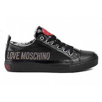 Kvinners sko Kjærlighet Moschino Sneaker Ecopelle Naplak Svart D20mo35