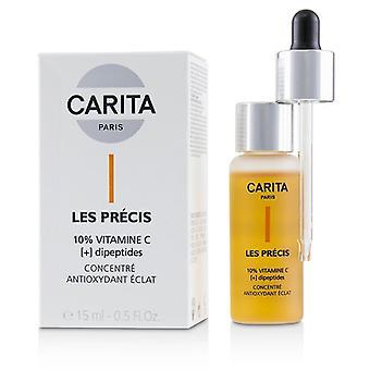 Carita Les Precis 10% Vitamin C [+] Dipeptides - Antioxidant Radiance Concentrate 15ml/0.5oz