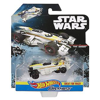 Hot wheels star wars the ghost carship