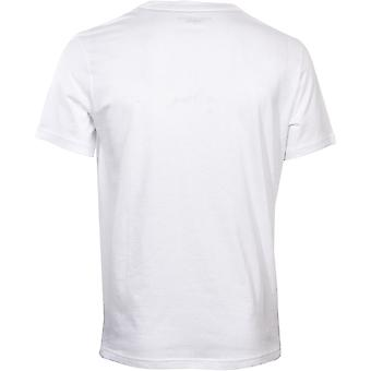 Tommy Hilfiger Tommy Embroidered Logo Organic Cotton T-Shirt, White