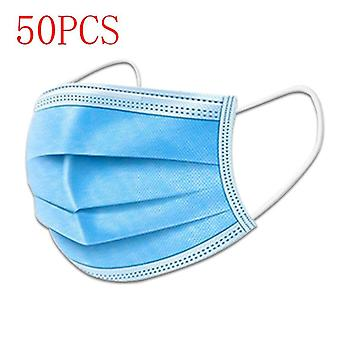 Face Disposable Anti Dust Mask, Filter, Earloop, Non Woven, Mouth Dustproof