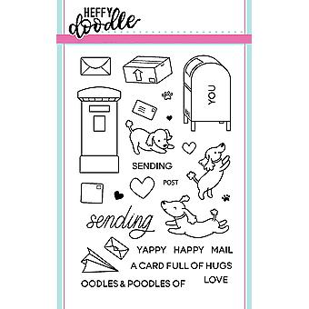 Heffy Doodle Yappy Happy Mail Timbres clairs