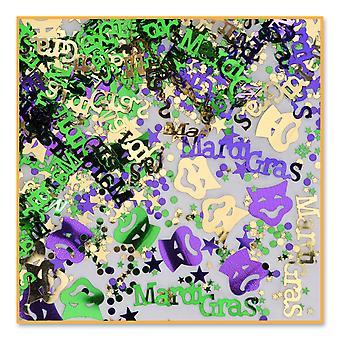 Confeti Mardi Gras (Pack Of 6)