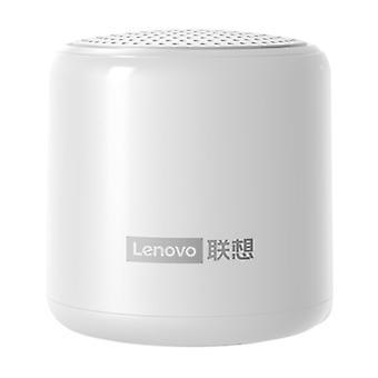 Langaton Lenovo L01 Mini -kaiutin - Langaton kaiutin Bluetooth 5.0 Soundbar Box Valkoinen