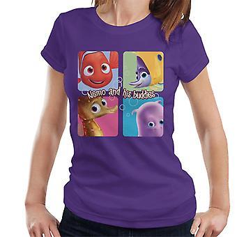 Löytäminen Nemo ja hänen kaverinsa Women's T-paita