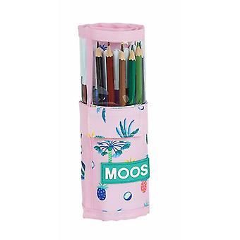 Double Pencil Case Moos Paradise (27 Pieces)