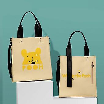 Bolsos de pañales para bebés Mickey Minnie, bolsa impermeable para el cuidado del bebé
