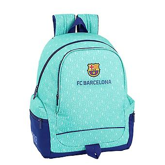 Koululaukku F.C. Barcelona Turkoosi