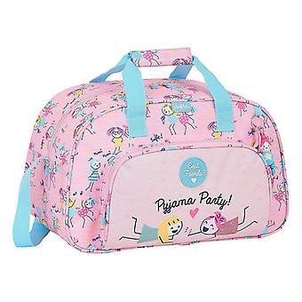Sports bag Glow Lab Best Friends Pink (23 L)