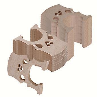 4/4 Burlywood Maple Bridge for Cello Strings Wood Full Size Set of 50