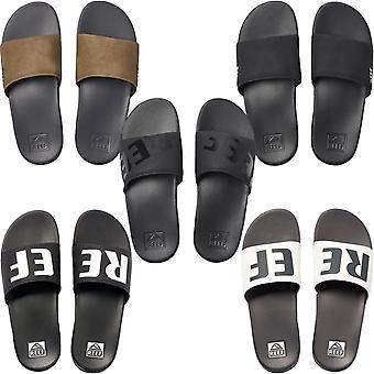 Reef mens één dia vakantie strand zwembad sandalen flip flop Sliders Dia's