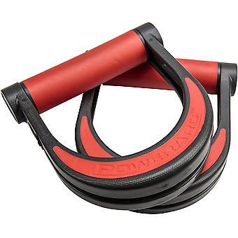 Lifeline USA Liikunta Fitness Training PowerArc Kahvat - Musta/Punainen