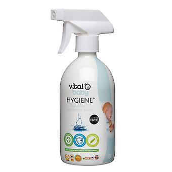 Vital Baby Aquaint Sanitising Water 100% Natural Sensitive 500ml