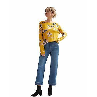 Shuuk suéter jacquard floral