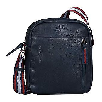 Tom Tailor Warren, Cross Bag. Man, Dark Blue, Medium