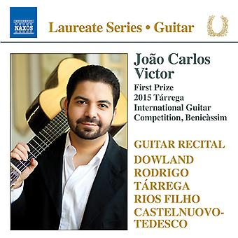 Dowland / Victor - Guitar Recital: Joao Carlos Victor [CD] USA import