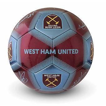 West Ham United FC allekirjoitus jalkapallo