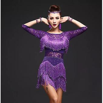 Modern Ballroom Latin Dance Dress