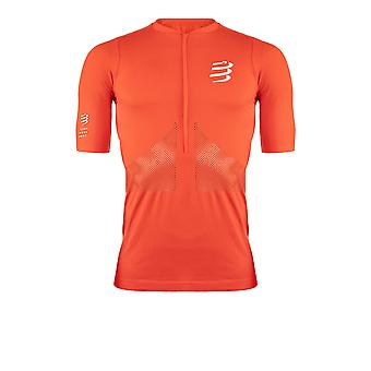 Compressport Trail Half-Zip Fitted SS T-shirt - AW21