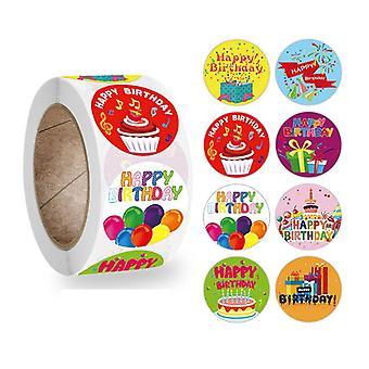 500 Aufkleber Aufkleber - alles Gute zum Geburtstag Motiv - Cartoon