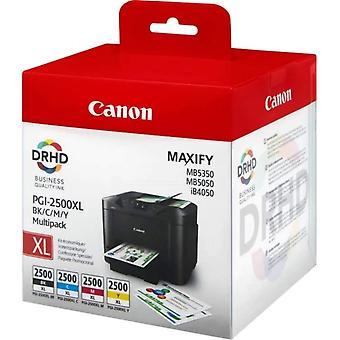 Canon 9254B004 (PGI-2500 XLBKCMY) Ink cartridge multi pack, 70,9ml   3x19,3ml, Pack qty 4