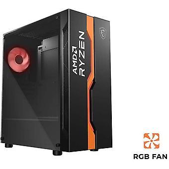 MSI MAG VAMPIRIC 011C Mid Tower SpeldatorVäska Svart AMD Ryzen Edition
