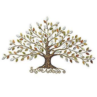 Puu elämää metalli seinä maalaus taide ripustus kuvia kodin sisustus olohuone abstrakti seinä juliste koriste