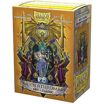 Dragon Shield - Queen Athromark: Coat of Arms Classic Art Sleeves - 100 Sleeves