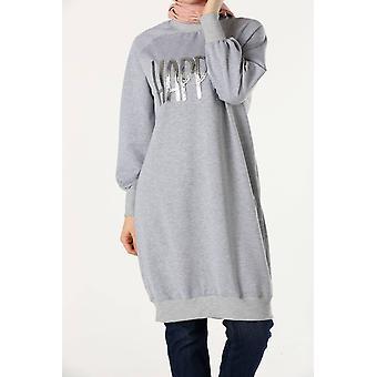 Raglan Sleeve Printed Tunic