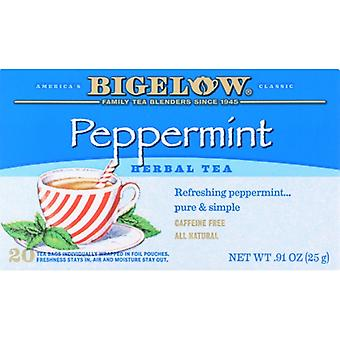 Bigelow Tea Purely Ppprmnt 20Bg, Case of 6 X 0.91 Oz