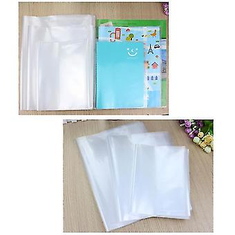 جديد للماء شفافة غطاء كتاب لاصق ذاتي (3 أحجام: a4 25k 16k ) sm32587