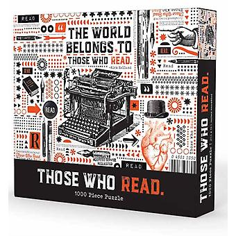 Those Who Read by Gibbs Smith Publisher