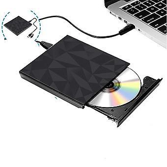 Usb-3.0 & Type-c DVD-meghajtó, Cd-író illesztőprogram, külső DVD-rw, lejátszóolvasó