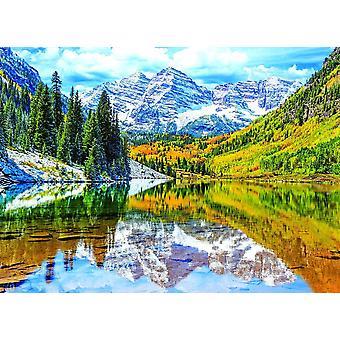 Eurographics Rocky Mountain National Park, Colorado Jigsaw Puzzle (1000 pièces)