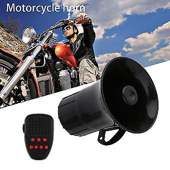 12v 50w 7 Ljud Tone Horn Motorcykel Bil Larm Siren Högtalarlarm För Bil
