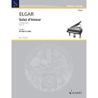 Elgar: Salut d'Amour op. 12 Klavier (4 Hände)
