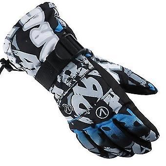 Rękawice wspinaczkowe rękawice zimowe rękawice do biegania dla mężczyzn kobiety termiczne podgrzewacze do rąk rękawice narciarstwo narty motocyklowe na rowerze
