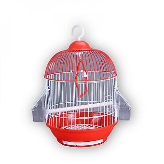 Pet Cage With Bird Cage Cylindrical Metal Bird Cage Parrot Cage