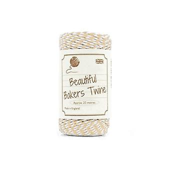 20m Apricot Natural Bakers Twine for Crafts & Gift Wrapping