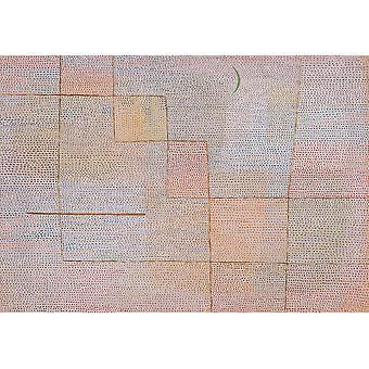 Wallpaper Art Mural Clarification by Paul Klee